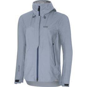GORE WEAR H5 Gore-Tex Active Hooded Jacket Damen cloudy blue/deep water blue